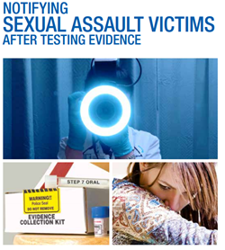 Cover of Notifying Sexual Assault Victims  After Testing Evidence