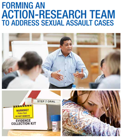 Cover of Forming an  Action-Research Team to Address Sexual Assault Cases