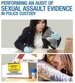 Cover of Performing an  Audit of Sexual Assault Evidence in Police Custody