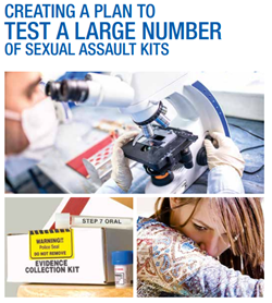 Cover of Creating a Plan to  Test a Large Number of Sexual Assault Kits