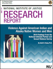 Cover of  Violence Against American Indian and Alaska Native Women and Men 2010 Findings From the National Intimate Partner and Sexual Violence Survey