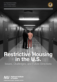 Cover of Restrictive Housing in the U.S.: Issues, Challenges, and Future Directions