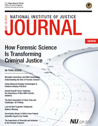 Cover of NIJ Journal 279 linking to the PDF version
