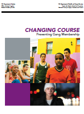 """Cover of """"Changing Course: Preventing Gang Membership"""