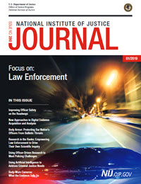 Cover of NIJ Journal 280 linking to the PDF version