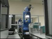 Still image linking to Robot Transferring Samples from One Machine to Another