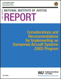 Cover of Considerations and  Recommendations for Implementing an Unmanned Aircraft Systems (UAS) Program