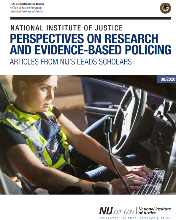 Cover of Perspectives on Research and Evidence-Based Policing: Articles from NIJ's LEADS Scholars