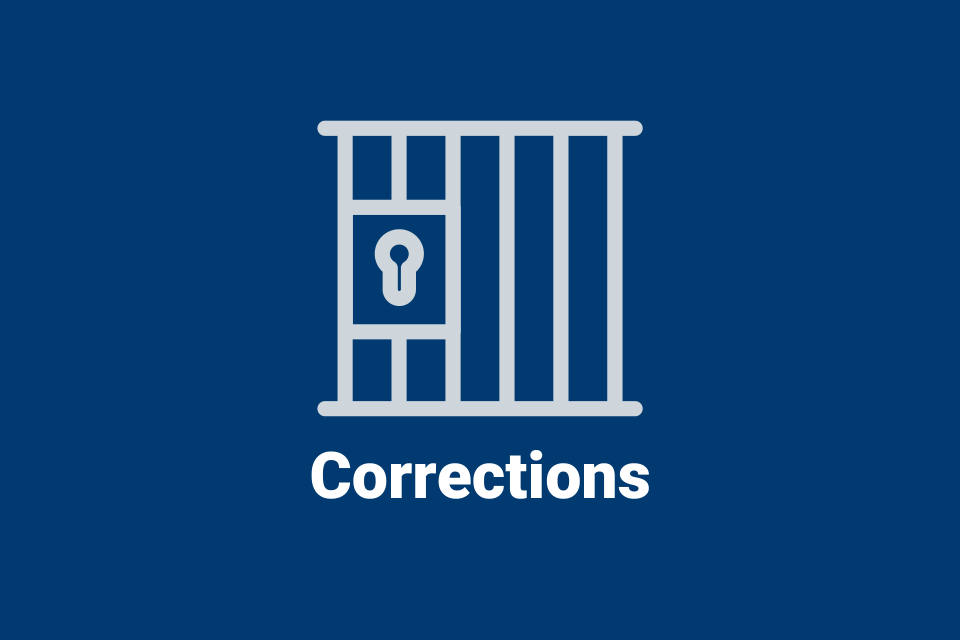 Corrections information from NIJ