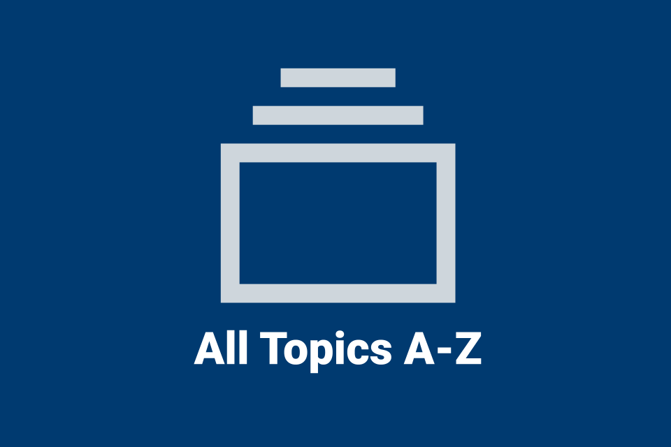 All Topics A to Z