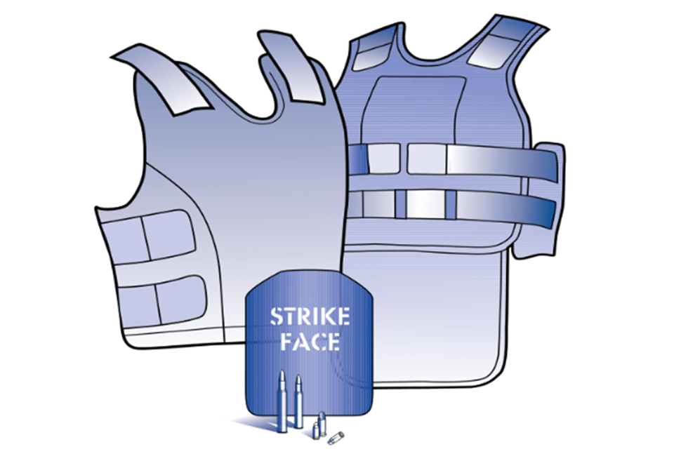 illustration of body armor