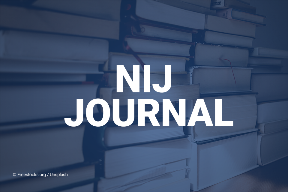 NIJ Journal
