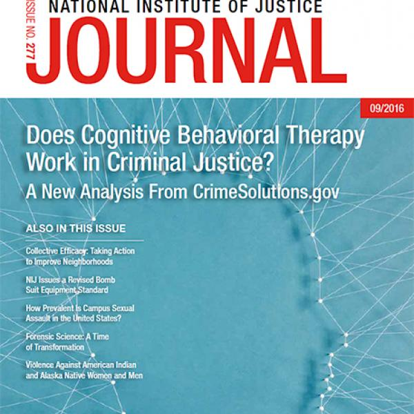 Cover of NIJ Journal 277