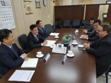 Dr. Muhlhausen and Korean delegation